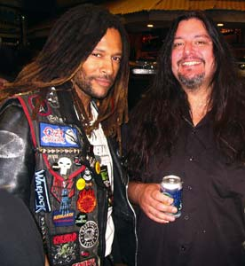 DJ Will and Gene Hoglan