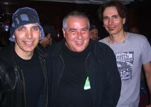Joe Satriani, Cliff Cultreri and Steve Vai