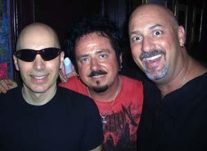 Joe Satriani, Steve Lukather and Junkman