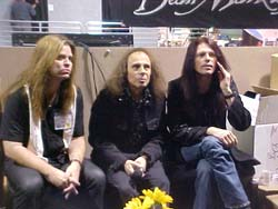 Craig Goldy, Ronnie James Dio and Rudy Sarzo